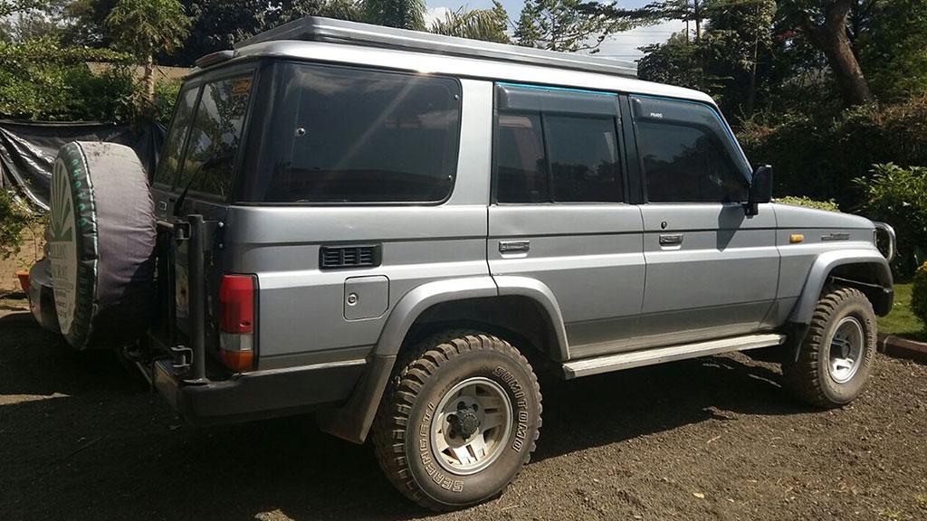Discounted 4X4 Rwanda Car Rental Deals
