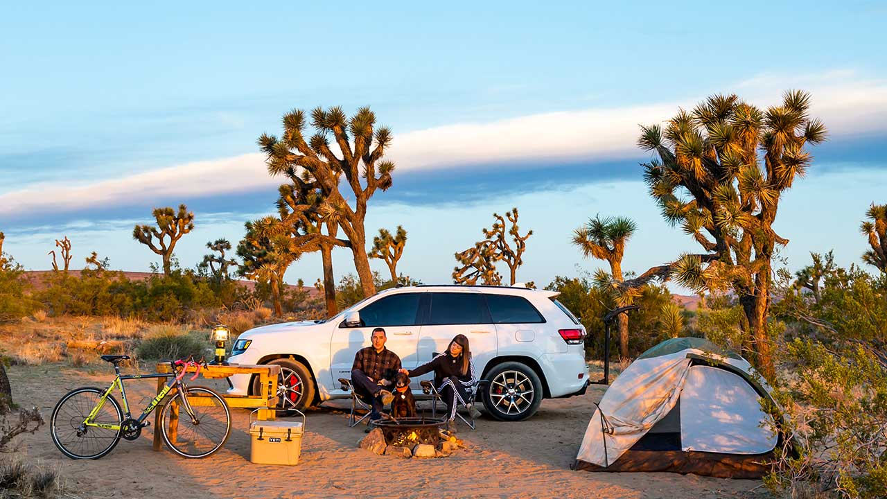 Rent a car with Quality Camping Gear
