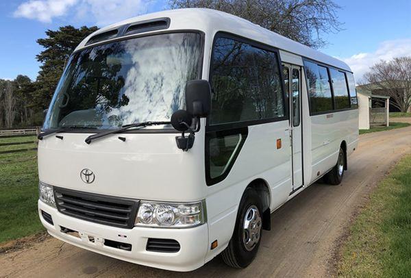 Toyota Costa bus $200 per day