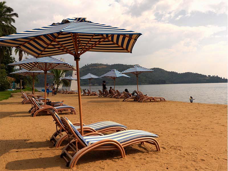 visit to lake kivu